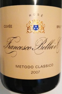 www.sommelierxte.it Francesco Bellei 2007 Extra Cuvée Brut R